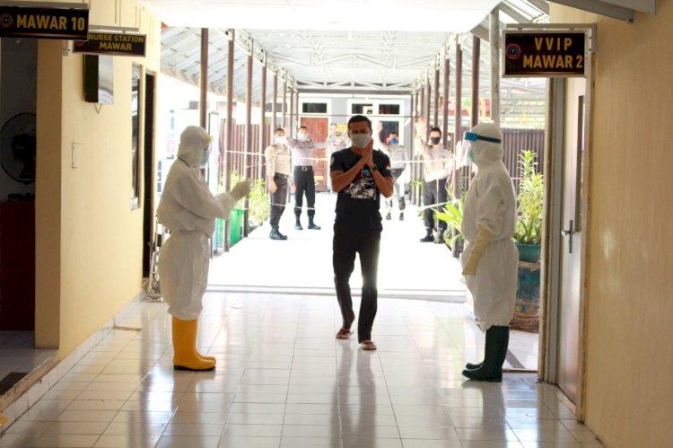 Rumah Sakit Bhyangkara Kupang Berhasil Sembuhkan Pasien Covid-19 Klaster Sukabumi