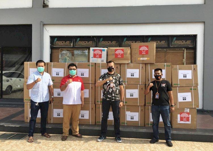 Di Tengah Pandemi Covid-19, Polda NTT Dapat Bantuan APD Dari Perhimpunan Indonesia Tionghoa Jakarta