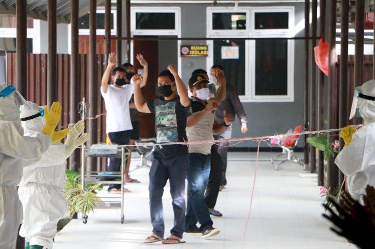Lagi, RSB Bhayangkara Titus Uly Sembuhkan Empat Pasien Covid 19