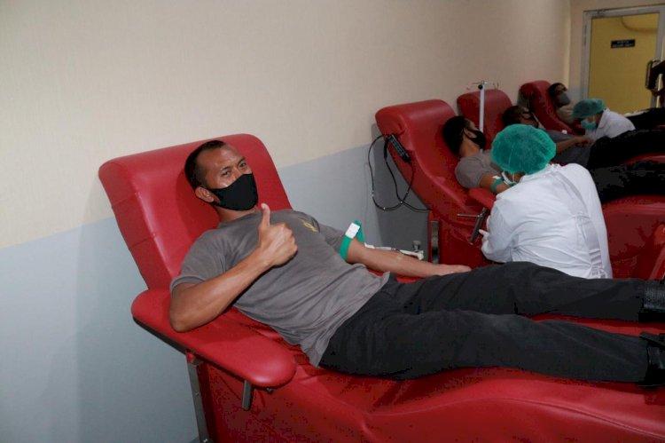 Aksi Kemanusiaan Lima Anggota SIP yang Sembuh Covid 19, Donorkan Plasma Darahnya Bantu Masrayakat NTT