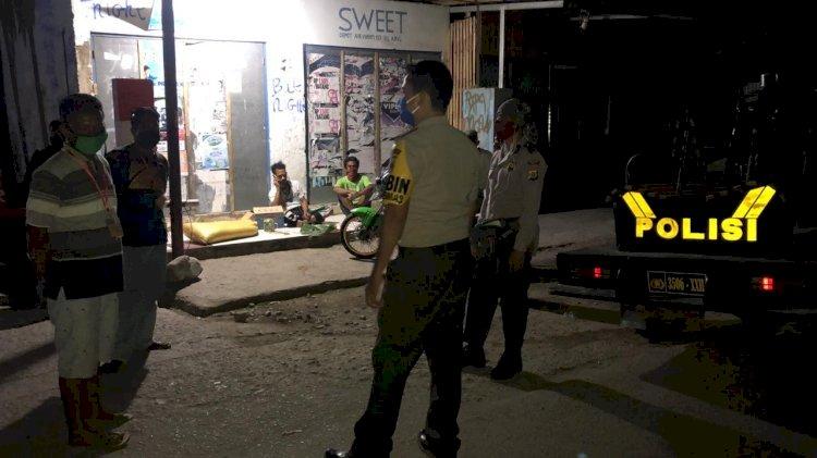 Cegah Covid -19 Dan Gangguan Kamtibmas Bhabinkamtibmas Polsek Alok Lakukan Patroli Dialogis