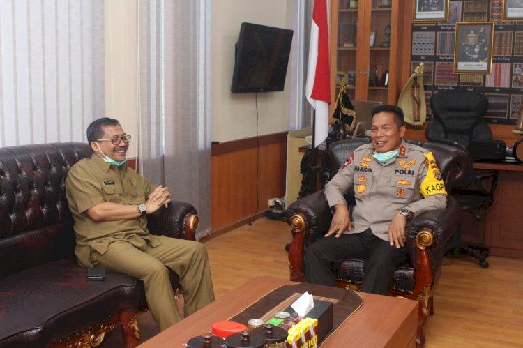 Kapolda NTT terima Kunjungan Silaturahmi dari Kajati NTT