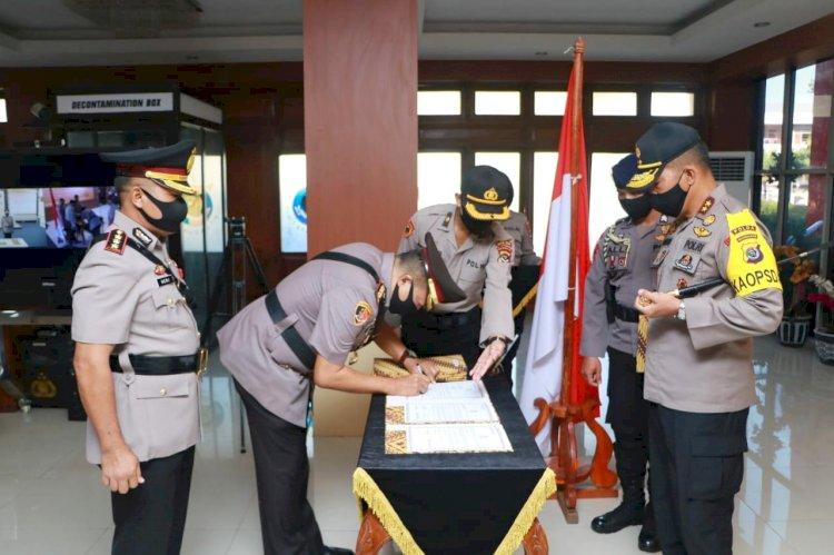 Kapolda NTT Pimpin Upacara Sertijab Sejumlah Pejabat Utama dan Kapolres Jajaran Polda NTT