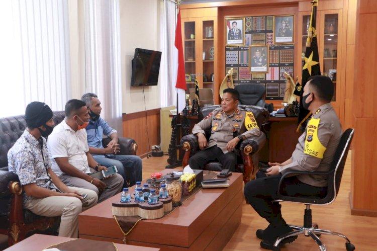 Kapolda NTT Terima Kunjungan Silaturahmi Pemred Timor Express