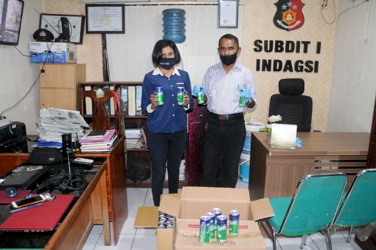 Ditreskrimsus Polda NTT Berhasil P21 Kasus Minuman Kadaluarsa