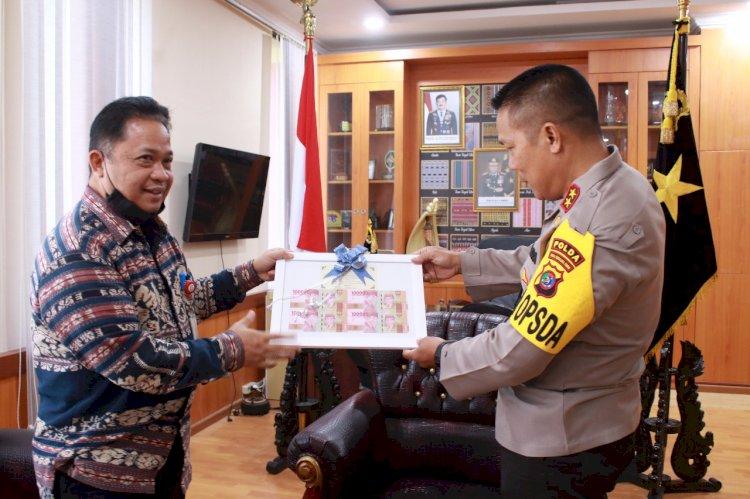 Kapolda NTT Terima Kunjungan Silaturahmi dari Kepala BI Perwakikan NTT