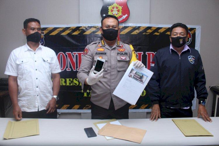 Ditreskrimsus Polda NTT P21 Kasus Pencemaran Nama Baik Melalui Media Sosial Facebook