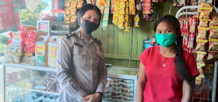 Aipda Felisitas Beri Sosialisasikan New Normal di Mataloko
