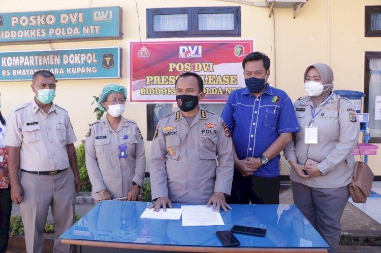 Tim DVI Biddokkes Polda NTT Kembali Berhasil Mengidentifikasi Satu Jenazah Korban Laka Laut KM.Kasih 25