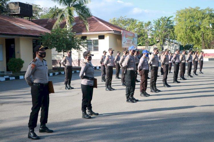 Lepas Siswa SIP Angkatan 49, Kapolda NTT Ingatkan Tetap Jaga Kesehatan
