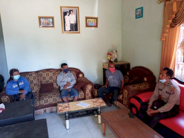 Sambangi Tokoh Agama, Satbinmas Polres Kupang Kota Imbau Terkait Patuhi Protokol Kesehatan di Tengah Wabah Covid-19