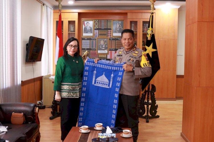 Kapolda NTT Menerima Kunjungan Silaturahmi Dari Anggota DPD RI