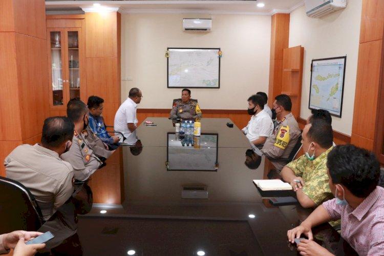 Kesiapan Pengamanan KTT G20 dan ASEAN Summit 2023, Kapolda NTT Menerima Kunjungan dari Stafsus Kementrian Pariwisata RI Bidang Keamanan