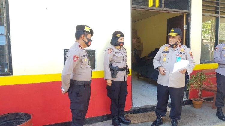 Wakapolda NTT Lakukan Pengecekan Ruangan Satker di Mapolda NTT