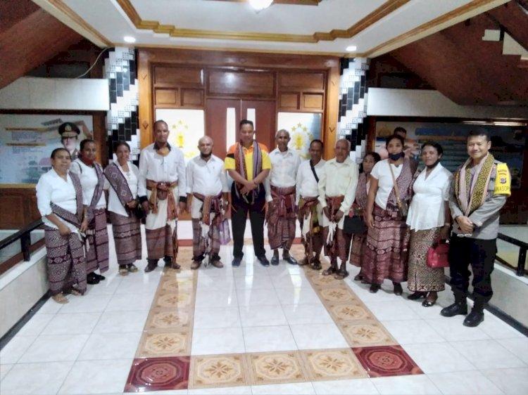 Jalin Silaturahmi, Kapolda NTT Terima Kunjungan Dari Pengurus Gereja Advent Hari Ketujuh NTT