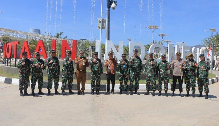 Kapolres Belu Dampingi Kunjungan Kerja Kepala Bais TNI di Wilayah Tapal Batas RI-RDTL