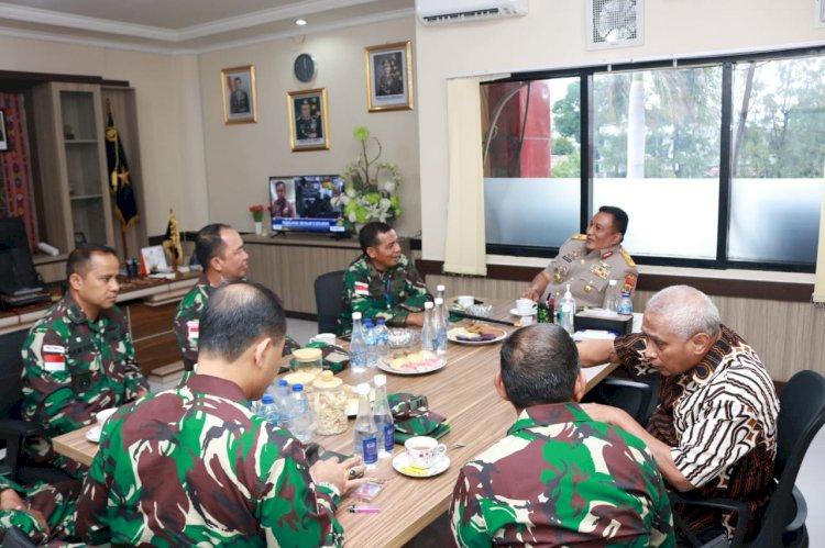 Wakapolda NTT Terima Kunjungan Silaturahmi Danrem 161/WS Kupang dan Irjen Pol. (Purn) Drs. Y. Jacki Uly