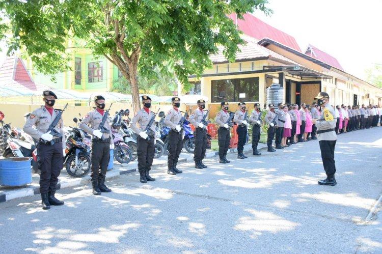 Kapolda NTT Lakukan Kunjungan Kerja di Polres Kupang Kota