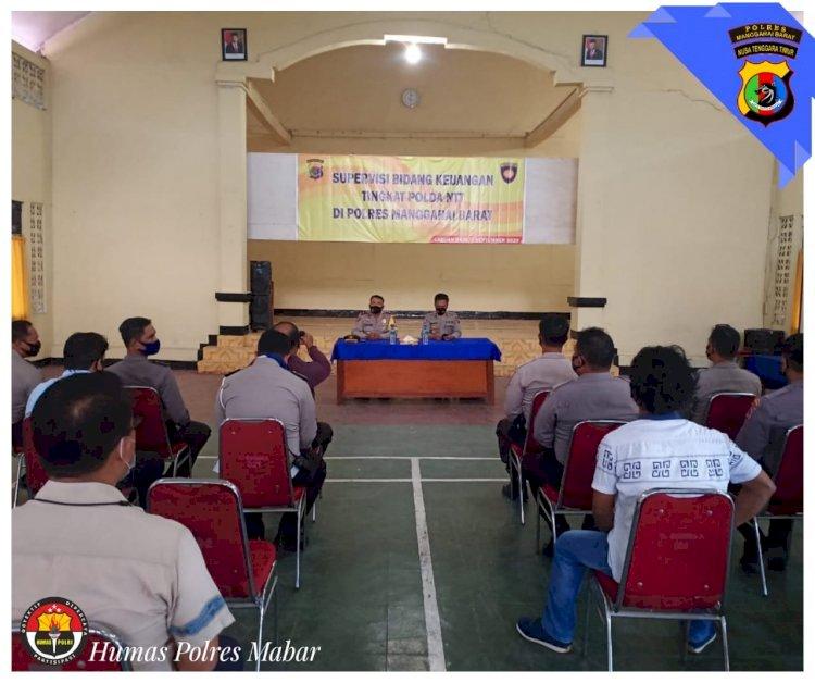 Polres Manggarai Barat Terima Kunjungan Tim Supervisi dan Asistensi Bidang Keuangan