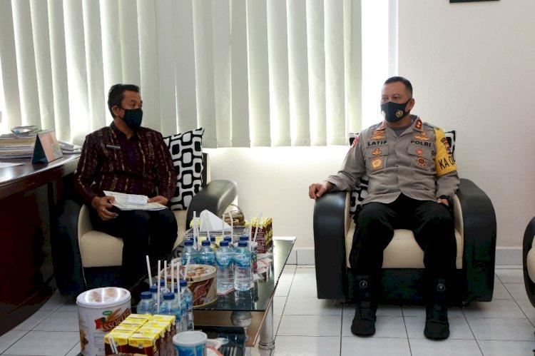 Tingkatkan Kerjasama, Kapolda NTT Silaturahmi ke Ombudsman Perwakilan NTT
