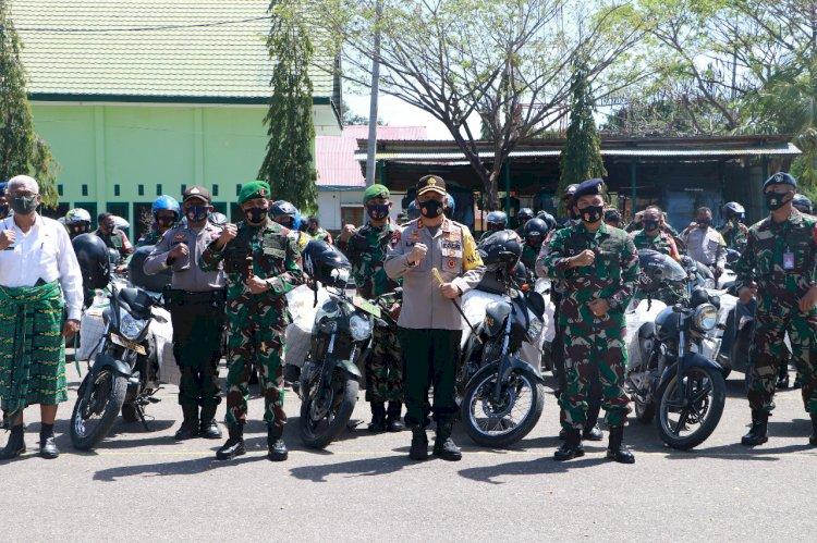 Kapolda NTT Bersama Forkompinda Hadiri Launching Baksos Dalam Rangka Peringati HUT TNI Ke-75