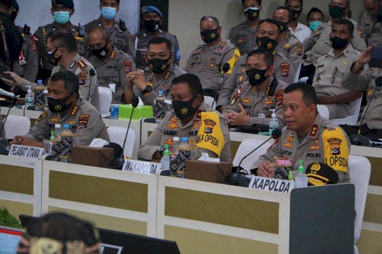 Komisi III DPR RI Melakukan Pertemuan Dengar Pendapat Bersama Kapolda NTT, Kejati NTT dan Kepala BNN NTT di Mapolda NTT