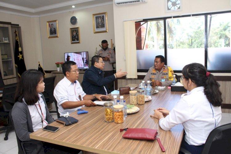 Wakapolda NTT Terima Kunjungan Silaturahmi PT Bank BTN Cabang Kupang