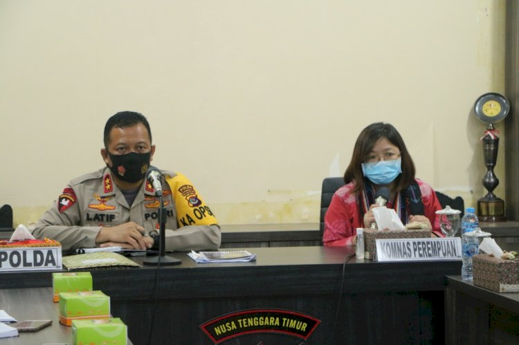 Kapolda NTT Hadiri Rakor Dengan Komnas Anti Kekerasan Terhadap Perempuan RI