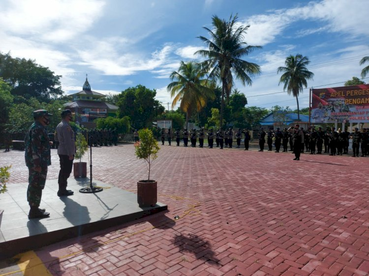 Kapolres Sumba Timur : TNI-Polri Bersenergi Siap Amankan Pilkada Sumba Timur