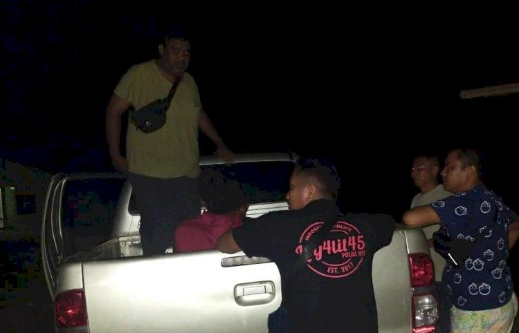 Tiga Pelaku Pengrusakan Mapolsek Weliman di Malaka Digiring Ke Polda NTT