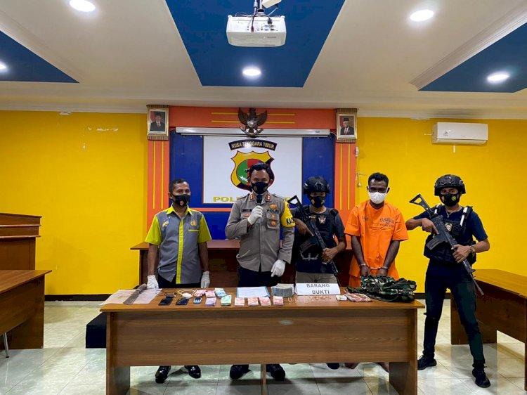 Jajaran Polres Alor Berhasil Ungkap Kasus Pencurian Uang Ratusan Juta Rupiah