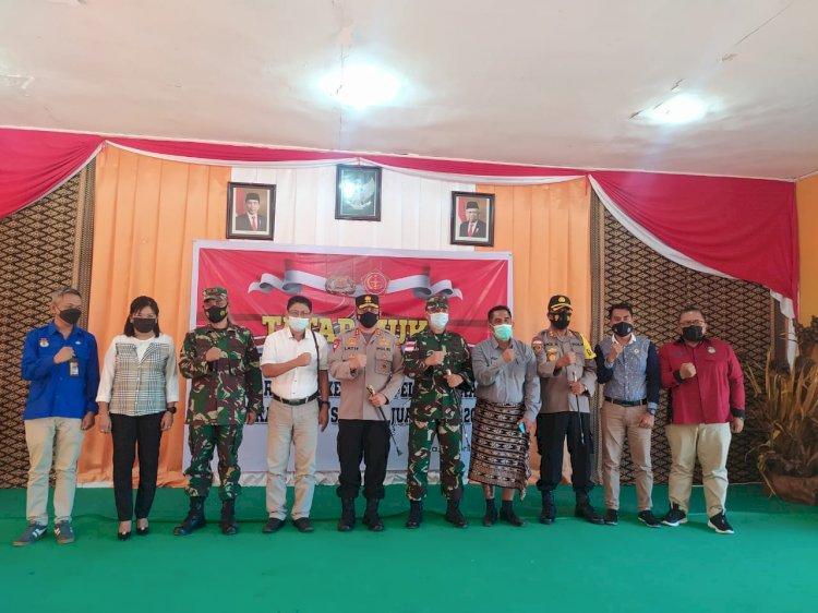 Kunjungi Sabu Raijua, Kapolda NTT : KPU Tidak Boleh Ragu TNI POLRI Siap Mengamankan