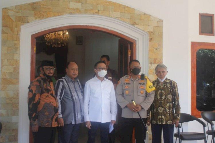 Sukseskan Pilkada Aman, Damai & Sejuk, Ketua Komisi III DPR RI Ucapkan Terima Kasih Kepada Kapolres Sumba Barat