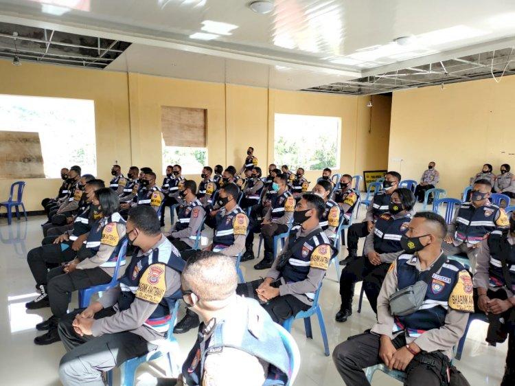 Tingkatkan Pelayanan Publik, Polres Ngada Selenggarakan Pelatihan Binmas Online