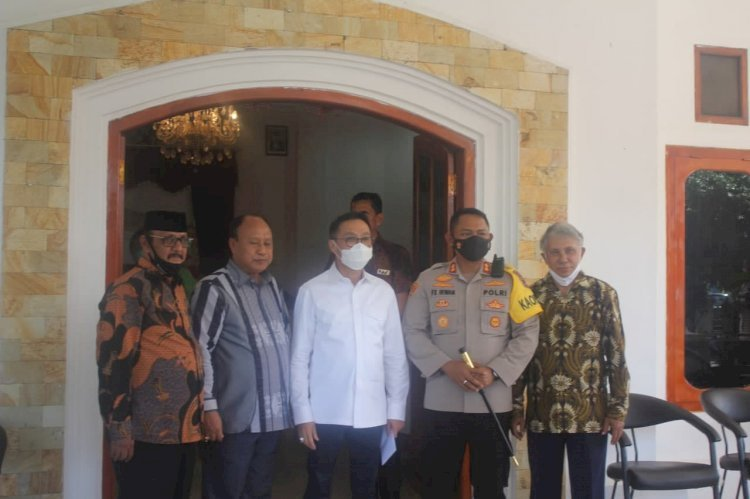 Pilkada Aman dan Lancar, Ketua Komisi III DPR RI Apresiasi Polres Sumba Barat