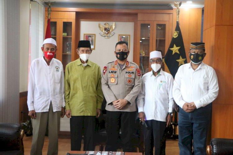 Silaturahmi dengan Ketua MUI dan DMI Kota Kupang, Kapolda NTT Pastikan Shalat Ied Polda NTT di Masjid Al Muawwanah