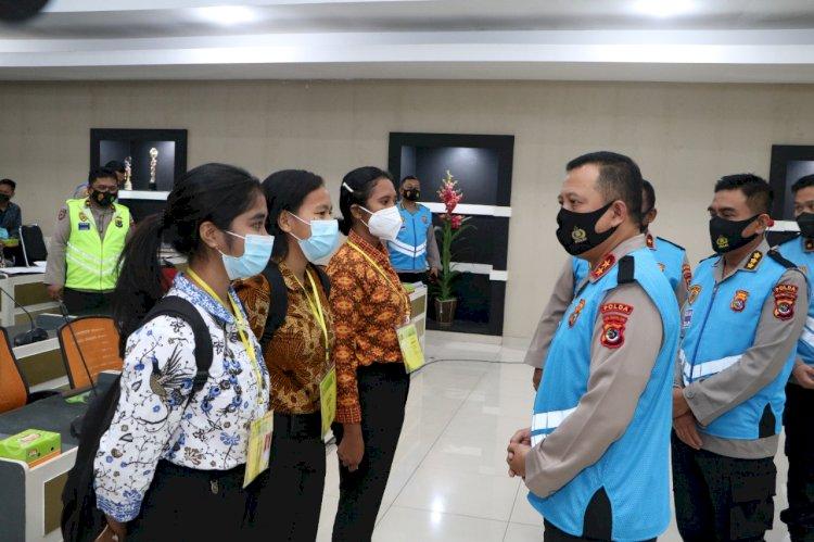 Sebanyak 976 Casis Bintara dan Tamtama Polri T.A 2021 Akan Mengikuti Pemeriksaan Kesehatan Tahap II