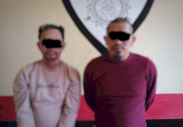 Dua Orang Pelaku Pencurian antar Provinsi Berhasil Diamankan Polres Manggarai Barat-Polda NTT