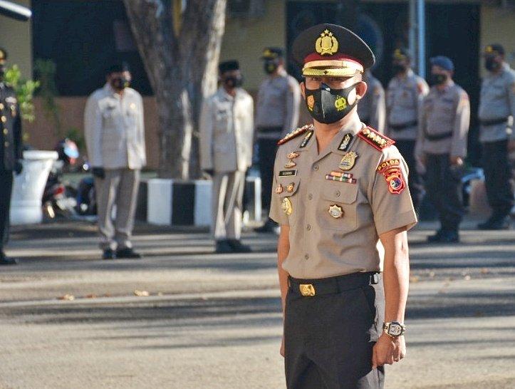 Dirsamapta Polda NTT Kini Menyandang Pangkat Komisaris Besar Polisi