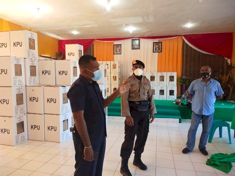 Jelang PSU Pilkada Sabu Raijua, Personel BKO Polda NTT Tingkatkan Kegiatan Patroli