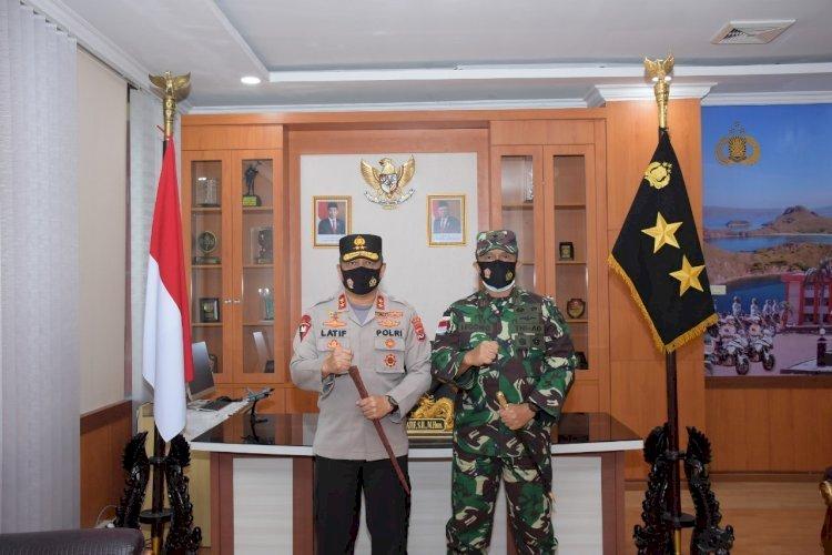 Kapolda NTT dan Danrem 161/Wira Sakti Perintahkan TNI POLRI Netral di PSU Sabu Raijua