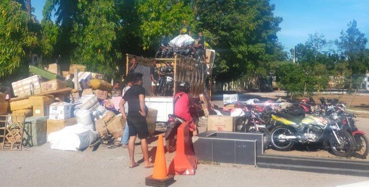 Subdit III Jatanras Ditreskrimum Polda NTT Amankan Belasan Ranmor Tanpa Dokumen Lengkap