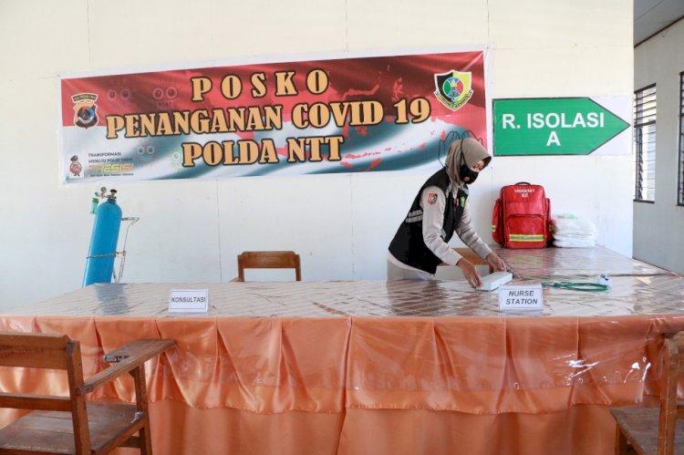 Polda NTT Siapkan Shelter Isolasi Mandiri di SPN Kupang