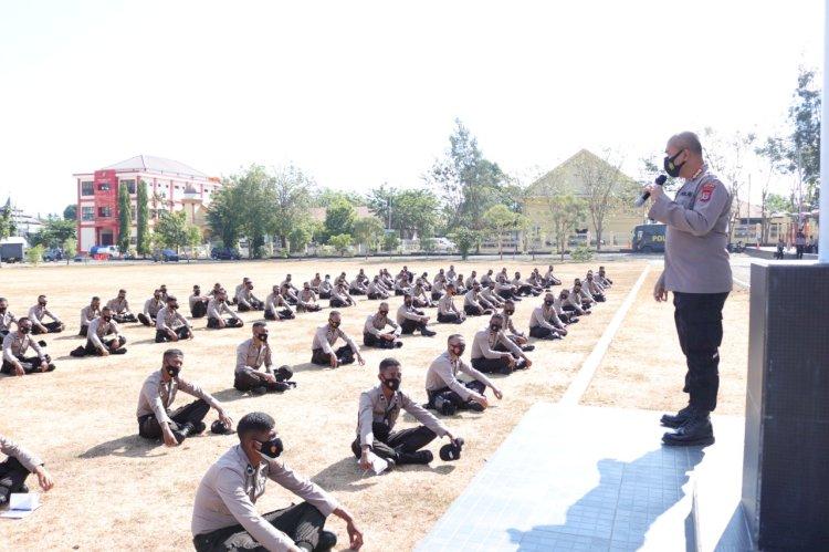 Ditbinmas Polda NTT Latih 192 Bintara Remaja Sebagai Tenaga Tracer Penanganan Covid-19