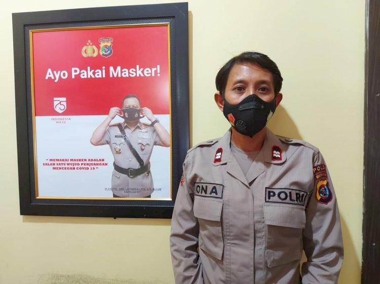 Salah Satu Polwan Polda NTT Bangun Toleransi Bagi Puluhan Bintara Polri