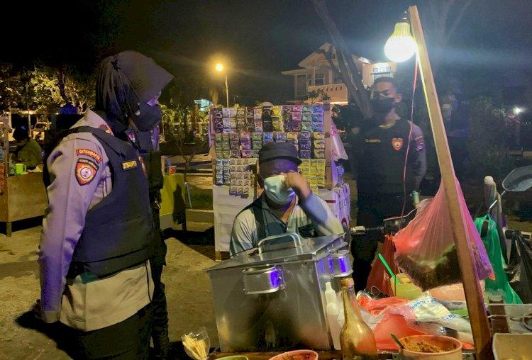 Cegah Ganguan Kamtibmas, Personel Turjawali Ditsamapta Polda NTT Gelar Patroli KRYD