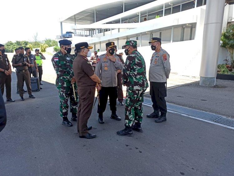 Cek Kondisi Kamtibmas di Wilayah Hukum Polda NTT, Kapolda bersama Forkopimda NTT Kunjungi Manggarai Barat