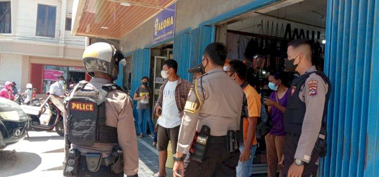 Patroli Cipta Kondis Aman dan Kondusif, Personel Turjawali Ditsamapta Terus Dilakukan di Kota Kupang