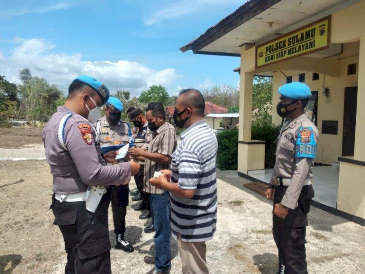 Menuju Polri Yang Presisi, Provost Polda NTT Cek Sikap Tampang Personil di Polsek Sulamu