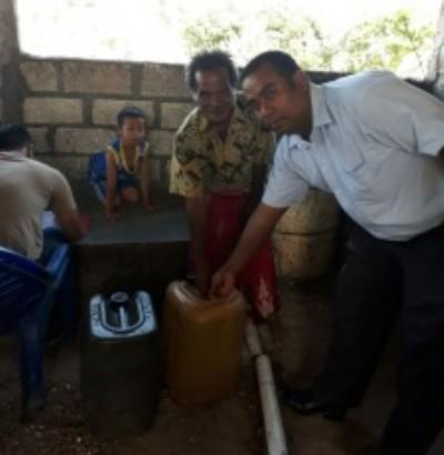 155 Liter Minuman Keras berhasil diamankan Satuan Narkoba Polres Kupang Kota